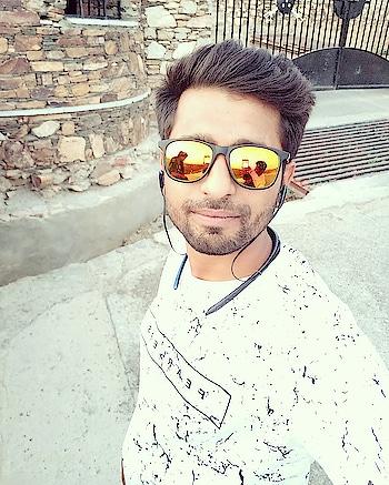 #myself #haldighatifort #enjoyement
