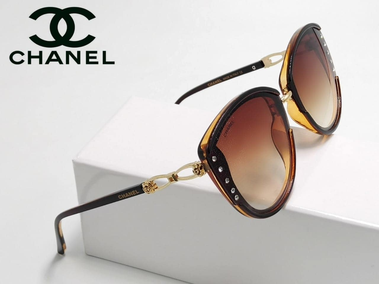 😍 *CHANEL IN STOCK* 😍 🕶🕶🕶🕶🕶🕶🕶🕶🕶🕶 👉 HIGH QUALITY 👉 100% UV PROTECTED 👉 WITH ORIGINAL BRAND BOX AND ACCESSORIES 🕶🕶🕶🕶🕶🕶🕶🕶🕶🕶 💰 *PRICE @1250/-*   ⛵ *SHIPPING FREE*⛵..w LB 9501023209