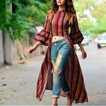 #streetstylefashion #roposotalenthunt #fashion