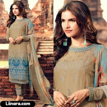 Beige and Blue Mohini Cotton Long Suit   100% Original Company Product With High-Quality Fabric Material.  Price - Rs 3500/- After Discount Rs 3250/-  See More - https://www.liinara.com/products/beige-and-blue-mohini-cotton-long-suit  #designerdress #salwarkameez #anarkalisuit #anarkali #liinarafashion #straightsuit #salwarsuit #straightsalwarsuit #patialasuit #punjabisuit #fashion #love #ethnicwear #suitwithjacket #follow #instagram #heercollection #unstitched #mohinisuit #pakistanistylesuit #longsuit #mohiniaarya #embroideredsuit
