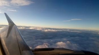 #weekend #vadodara #travel #family #plane #airport #clouds #intheair #inthesky
