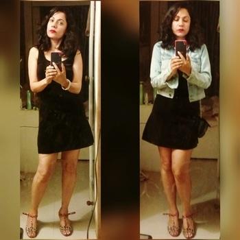 Many ways to wear a little black dress #lbd #blackisblack