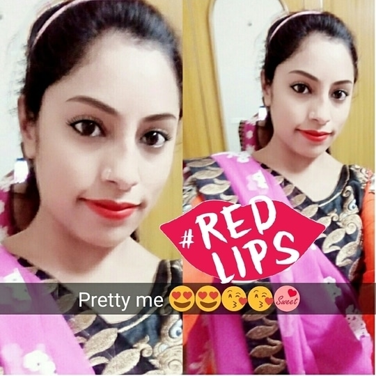 #lakmecolour  #madamelove #lakmeabsolute #color-pop #prettyinpink #preety_me #preetypreety #prettinessoverload #redlips