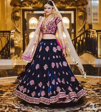 #velvetlove #lehengalove #wedding-bride
