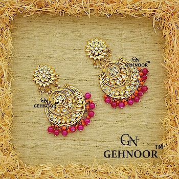 The Heart wants what it wants! 💗 . Time for something absolutely Droolworthy in the Gorgeous Colour Pink! 💞 . Pink along with Electric Orange is what Happiness looks like and here we have created just that! Pretty Pink and Orange in a Beautiful Kundan Chandbali design which is just perfect for that Vibrant Day Occasion! 💖💕 . www.gehnoor.com 💻 . FREE SHIPPING anywhere in India 🚙 . Cash On Delivery Available across India 💲 . WhatsApp at 07290853733 📱 . www.facebook.com/Gehnoor/ . gehnoor@gmail.com 📝 . #bride #goldjewellery #kundannecklace #traditionaljewellery #indianbride #photooftheday #instabride #bridalwear #bridaljewellery #tags #like #likeforlike #followfollow #followus #followback #gehnoor #earrings #chandbali #kundan #everydayphenomenal #pink #ColourMeGehnoor #orange #fashionblogger #indianfashionblogger