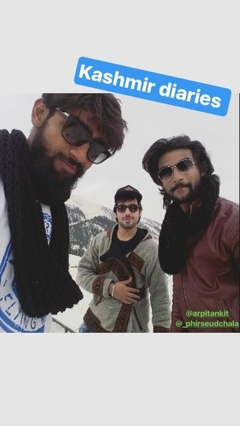 still about #kashmirdiaries #friendshipgoals @manishgoplani9 #2k17
