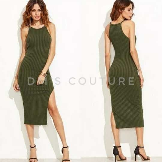 #dress #westernwear #bodycondress #sidesplitdress #slimfitdress #slimdress #sexydress #casualdress #casualwear #basicdress #greendress #womenswear #womensclothing #womensapparel #apparel #apparels  Slim Sexy Harness Forks Long Dress Middle Waist   Size- XS, S, M Color- Green Item Type: Dress Material: Cotton Weight: 0.3kg  Size: XS- Length: 107cm, Bust: 75-80cm, Waist: 59-64cm, Hip: 73-78cm  Size: S- Length: 112cm, Bust: 80-84cm, Waist: 64-68cm, Hip: 78-82cm  Size: M- Length: 112.5cm, Bust: 84-88cm, Waist: 68-72cm, Hip: 82-86cm  Due to the  manual measurement may be the existence of 1-3cm error, please understand,thanks.  Package content: 1*Dress  SHIPPINGS & RETURNS Shipping generally takes 8-20 days. Please also allow 3-6 day for processing.  No Return or Exchange Accepted.  Note: This is Pre-order Stuff.  To order dm or Buy from Dm's Couture online. Click https://glowroad.com/s/disha.mehta/shop
