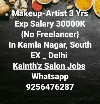 "#SalonjobsinPunjab #Ludhiana #Patiala #Jalandhar #Pathankot #Amritsar #Batala #Delhi #lajpat   #Jobs #Salonjobs #Hairjobs #hairstylist #Makeup #skincare #beauticians #pedicurist  #Nailart #Frontdesk #Telecaller #Marketing in given location trails updates just Click on link on ""Quick Resume"" Submit or Whatsapp 9256476287 or Email:- kainthconsultancy@gmail.com  http://kainthconsultancy.com/salon-jobs-in-north-india/"