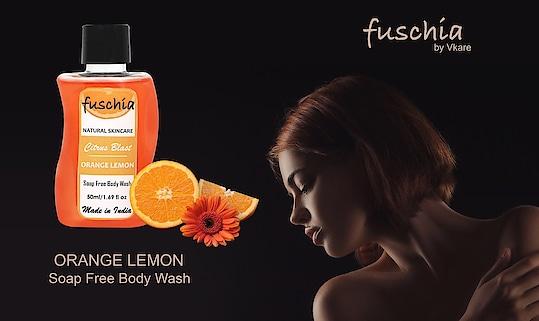 #Fuschia #soapfree #bodywash . Available in #citrus blast #lemon n #orange & #redapple #orchard  #slsfree #parabenfree #phthalatefree #crueltyfree #BathAndBody #madeinindia #nottestedonanimals #delhigram #mumbai #delhisummers #beauty #fashion #skincare #luxury #travelessentials