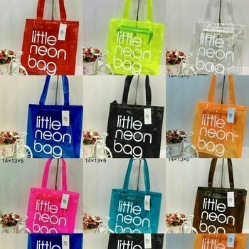 U S A Brands Little Neon Bag Transfer bags Good Quality. Price...1000...only...👜
