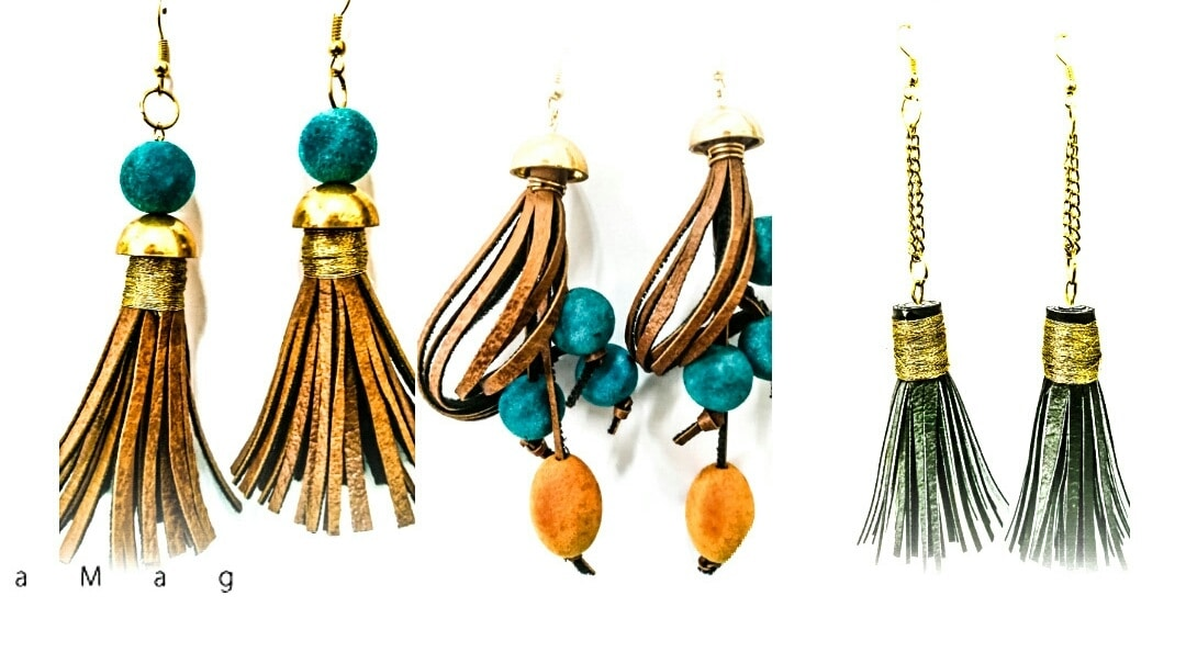 Tasta by surbhi and jasjot  Hand crafted jewelry with trending elements of beads. Threads tassels. Pompom  Dm for order and any other enquiries