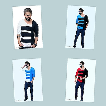 Check bio and dm me for shopping _Flaunt your own fashion sense with theseLatest Men's Cotton Printed T-Shirts. Make everyone's head turn toward you!_  Catalog Name : *Myhra Classy Men's Cotton Printed T-Shirts Vol 20*  Fabric: Cotton  Sleeves: Full Sleeves Are Included  Size: Variable ( Message Us For the Details)  Length: Refer Size Chart   Type: Stitched  Description: It Has 1 Piece Of Men's T-Shirt  Work: Printed  Dispatch: 2 - 3 Days  Designs: 6  Easy Returns Available In Case Of Any Issue #fashion  #clothes  #menswear  #womenswear  #shirts  #tshirts #jacket  #shoes  #sneakers #watches  #earphones  #powerbank  #shorts  #dresses  #pants #heels  #highheels #beautiful  #saree #indianculture  #indian #onlineshopping  #bestdeals  #bestproducts #jewellery  #earrings #maharashtra #delhi #gujarat