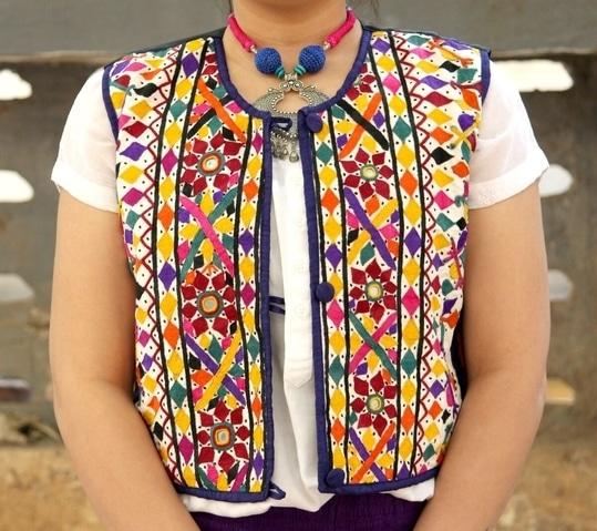 #ethnic-wear#koti#embroidered#mashru#silk#sleeveless#trendy#jacket