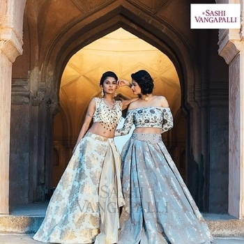 This wedding month, explore the finest of wedding collection - traditional yet contemporary; raw yet gorgeous.  For price inquiries, reach out to us on +91 90007-77796 or hello@sashivangapalli.com . . #Amaya #SashiVangapalli #weddinglook #wedding #weddinglehenga #lehenga #ethnicwear #traditional #tradionalwear #weddingcouture #bridalfashion #bridalcollection #fashiontrends #designerhouse #designhouse #sashivangapalli
