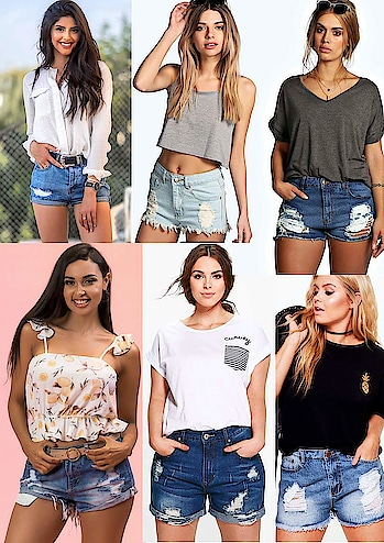 #crajs #denimshorts #denim #denim-love #denimlove #denimlook #shorts #ladiesdenim #ladies #ladiesfashion #ladieswear #hotshorts #sexyshort #ripped #rippedjeans #rippedshorts #rippeddenim #women #women-fashion #womenwear #women-style #rs.300 #flatrate #fashionden