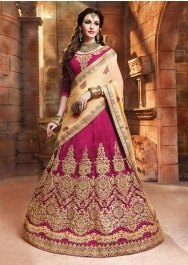 Be Fashionable!! Designer Lehenga for this festive season