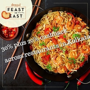 dineout is here with a another grand #Food #Festival ..   So if you love going to #SaltLake or #Sector5, this one's just for you!   Get upto 30% off at 19 restaurants in East Kolkata and get 20% cashback when you pay through the #Dineout app at 17 restaurants including Raize The Bar, The Drunken Monkey, Traffic Gastropub, Reflexion, Art Of Dining, Bakstage and many more..  Dates : 28th Nov - 3rd Dec  Follow the link for entire list of restaurants : https://bnc.lt/6ZXm/mQRGvCRZkI  #DineDazzleDive #Kolkata #FoodBlogger