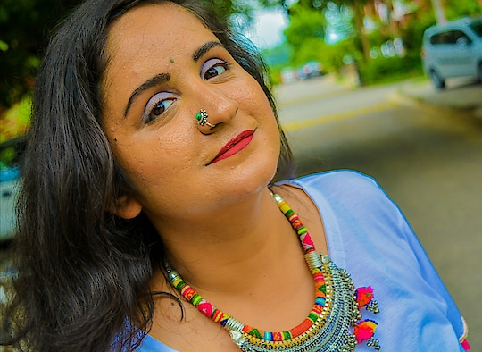For some reason I love the colors in this picture . . .  #bohochic  #bohovibes   #bohostyle  #bohoaccessories  #mdblogs  #college  #collegeoutfit  #mdblogs #nosering  #nosepins  #chandigarhfashionblogger  #mumbaifashionblogger  #delhifashionblogger  #bangalorefashionblogger  #fashionblogger  #blogger  #fashion  #outfitideas  #chic  #boots  #blackboots  #fashionphotography  #nofilter