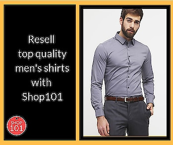 Start your online reselling business with Shop101 and earn upto Rs 1 lakh. Download now: http://bit.ly/2D12b3g #reselling #shirts #men-fashion #menshirts #fashion #thebazaar #formalwear #onlineshopping #onlineselling #mensformals