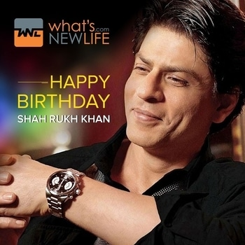 What's New Life wishes the Bollywood Baadshah Shah Rukh Khan on his 52nd birthday anniversary.  #BollywoodBaadshah #bollywoodking #KingKhan #shahrukhkhan  #birthday  #Celebration #Wishes #WNL