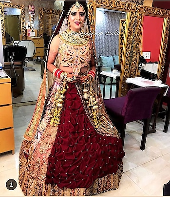 dress..... fashion is not about wearing good clothes or #acessories it shows the inner personality of a person.... #roposotalks #roposofashionista #weddingdress #wedding-bride