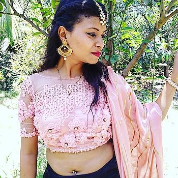 #function #ready #traditionalwear #love #pink #chaniyacholi