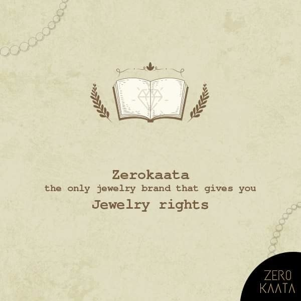 "THIS REPUBLIC DAY :  ZEROKAATA IS THE ONLY JEWELRY BRAND THAT GIVES YOU "" JEWELRY RIGHTS ""  CLAIM YOUR JEWELRY RIGHTS NOW  #zerokaata #zk #fashion #style #jewelrybloger #jewelryshow #jewelrybrand #jewelrystyle #jewelryofig #jewelryporn #jewelryshop #jewelrylove #jewelryswag #jewelrygoals #jewelryonetsy #jewelrysale #jewelrylovers #jewelrygifts #wedding #Weddingjewelry #earringsfashion #IFN27 #UDGAM"