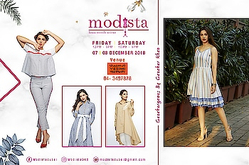 @thegauahargeousofficial by @gauaharkhan is coming back with her  Contemporary, modern and chic ensembles only at Modista 📅 7th & 8th Dec 2018 📍 @vesimi , DUBAI  . . #modistadxb #modistarocks #modista #wintershow #under1k #fashionandlifestyle #designerwear #instafashion #shopaholic #shoptillyoudrop #mydubai #uae #abudhabi #picoftheday #shopping #fashionexhibition #fashionblogger #fashionstyle #gauahargeous #gauaharkhan #celebritystyle #westernwear #workwear #luxurypret #shopthelook #lifestyle #exhibition