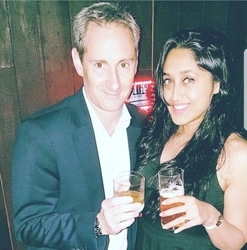 With the MD @sdemeur of Moet Hennessey India! #hennessy #neverstopneversettle #hennessyVS #mixology #funnight #event #evening #fashion #fashionph #fashionista #fashionblogger #bewitchingk #mumbaiblog #indianblogger #styling #diva #potd #stylist #mumbai #follow #like #roposo #roposolove #ootd #mumbaiblogger #mumbaifashionblogger #fashiondiaries #posing #posingforthecamera