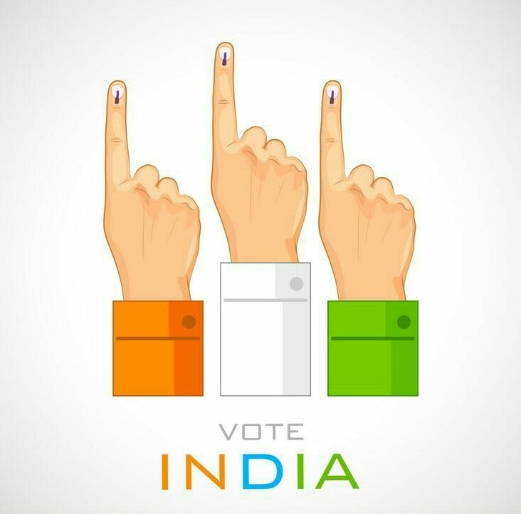 Today Lok Sabha Elections 2019  आज आपका वोट अगले 5 साल तय करेगा मतदान करना अपना अधिकार है।  1. Your vote can win you the better future. 2. Have a vision and make the right decision. 3. Your vote is your voice. 4. Point your finger the right way. 5. Voting wisely is a responsibility. 6. Stand up for your rights. 7. Change together let's go vote together. 8. Vote for better tommorow. 9. Vote for right side. 10. Vote for better india.  #elections #loksabhaelections2019 #vote #rightdecisions #liberty #rightway #selfdependent #rightchoice   One vote is precious   Pls aap log apna vote zaroor de.  😎😎😎👍    Jai hind jai bharat 🇮🇳🇮🇳🇮🇳 🙏🙏🙏