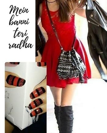 Mein Banni Teri Radha... #nail-addict #nails #nertia #nertia_nailwear #nailsoftheday #nail-designs #nailswag