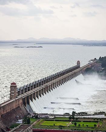 Tunabhadra Dam, Karnataka. #tungabhadra #karnataka