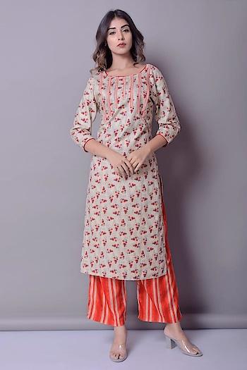 *Kurti + Plazzo Set*   Fabric :- Rayon kurti  Size :- l to xxl   Length :- kurti :- 47+   Straight Plazzo :- 38  *Price :- Rs.1050*   Gst and shipping extra