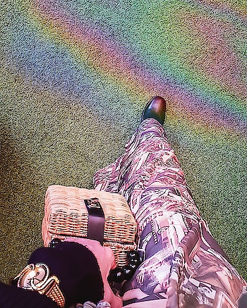 : One step at a time is all it takes to reach your rainbow! . . . . . . #bloggersofinstagram #fblogger #aboutalook #styling #styleblogger #stylegram #whatiwore #fashionblogger #ootdbloggers #fashionstyle #agameoftones #crafttherainbow #ig_color #livecolorfully #captureyourstyle #positivemood #positiveenergy #positivequotes #rainbow #roposo #roposostars