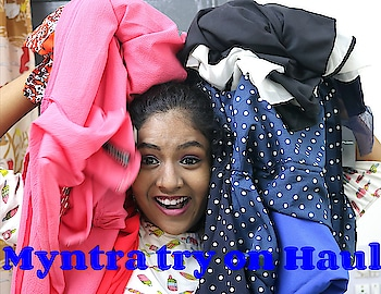 my new video is up.. link is in bio...   #myntra #haul #haulvideo #sale #myntrahaul #myntrastyle #ropo-good #ropo-style #ropo #ropo #soroposodaily