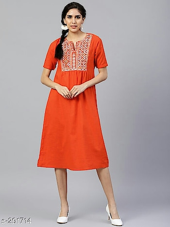 Whatsapp -> https://goo.gl/B6tBk5 (+917048552454) Catalog Name: *Nowrin Fancy Kurtis Vol 7*  Fabric: Cotton Slub/ Rayon  Sleeves: Sleeves Are Included  Size:  S - 36 in, M - 38 in, L - 40 in, XL - 42 in, XXL - 44 in  Length: Up To 46 in to 48 in  Type: Stitched  Description: It Has 1 Piece Of Kurti  Work: Printed/ Embroidered  Dispatch: 2 - 3 Days  Designs: 6  Easy Returns Available In case Of Any Issue #kurtis