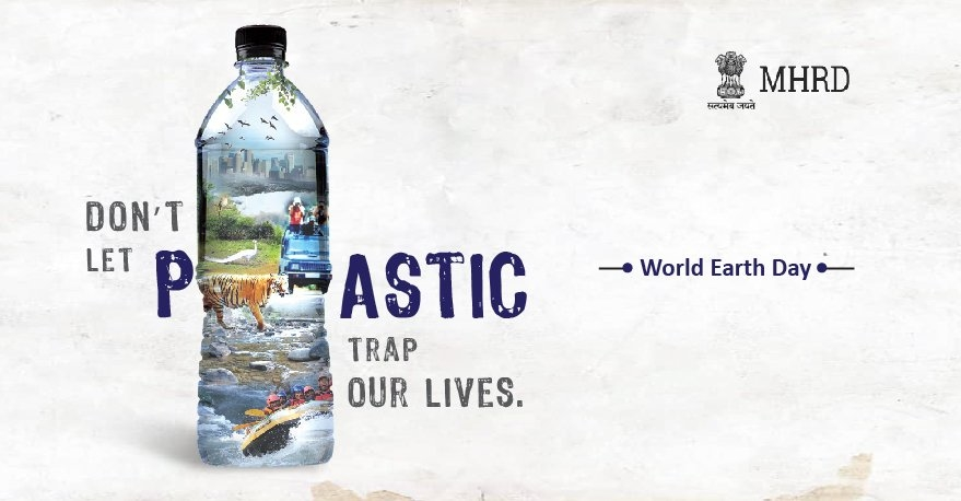 Celebrate #worldearthday with the ministry of human resources and development of India #overpopulation is the serious culprit ......