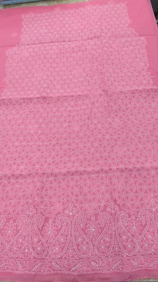 #classic #traditional Noorie piece aka kurta material  Rs1990/- including shipping.. #womenwear #womenroposo #chikankari #shaaneawadhchikankari #shaaneawadh #shivamchikan #chikanwork #lucknow #lucknowchikankari  #lucknowchikankarifromshaaneawadh