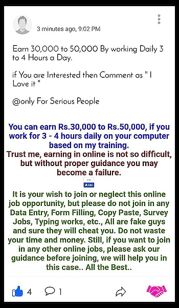 Earn ₹5000 Monthly Free