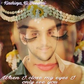 when I close my eyes I see u only ❤❤ @shivyapathania3 @kinshukvaidya54 ❤❤