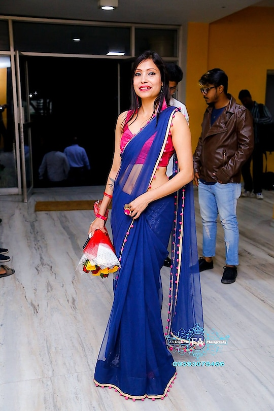 launch of film Gujarish #specialguest #sudhajain #fashionista #fashion #blue-coloured #roposochannel #filmistaanchannel