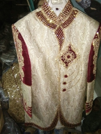 For Purchase whatsapp at +919950980642 or mail us at order.aanjana@gmail.com #sherwanis https://www.facebook.com/WeddingAanjana/  We are Manufacture & Supplier Of Sherwani, Blazer, Kurta Pyazama, Nehr Jacet, Saree Salwar Suit & Lehenga  Mobile Number/What'sApp No.= +919950980642  Mail id :- order.aanjana@gmail.com,   #sherwani_for_groom  #Sherwani_Stitching #Inskrit_Stitching #Indo_Western_Outfits #Dhoti_Sherwani #Indo_Western_Outfits #Pathani_Suit #Dhoti_Kurta #Indian_Wedding_Suits #Kurta_Pyjama #Kids_Wear #KIDS_KURTA #KIDS_SHERWANI  #MENS #Kurta_Pajama #Designer_Sherwani_Collection #Designer_Sherwani_For_Groom  #Mens_Chunni #Mojari_Shoes #Dhotis #Mens_Waistcoat #Blazer_for_Men #KIDS_SALWAR_KAMEEZ #Jeans #Knitwear #Jackets_Vests #The_Lightness_Of_Linen #Dresses_To_Impress #Pockets_Of_Style #Womenswear_Essentials #A_Pattern_Of_Success #Smooth_As_Silk #Welcome_To_The_Weekend #FOOTWEAR #CLOTHING #ACCESSORIES #EXPLORE #DRYSKIN_JACKET #ROUSEABOUT_COAT #WINDSOR_BLAZER #CLASSIC_DENIM_RIDER_JACKET #HOTHAM_JACKET #COSGROVE_JACKET #LINESMAN_REGULAR #STRETCH_LINESMAN_REGULAR #LINESMAN_SLIM #STRETCH_LINESMAN_JEANS_SLIM #RAMCO_JEANS #DUSTY_JEANS #MONASH_JACKET #BELLS_T_SHIRT #PADDINGTON_SWEATSHIRT #CURTIS_T_SHIRT #HART_POLO #GEORGE_POLO #ROD_POLO #PAT_POLO #GIBB_CHINO #LENNARD_CHINO #SCARBOROUGH_SHORT #FINGAL_SHORT #BOURKE_SHIRT #KEITH_SHIRT #GRAZIER_SHIRT #RANCHER_SHIRT #COLLINS_SHIRT #RANCHER_SHIRT #HERVEY_SHIRT #MARTIN_SHIRT #RANCHER_SHIRT #BOONARGA_SHIRT #COLLINS_BUTTON_DOWN_SHIRT #MANSFIELD_SHIRT #BOURKE_SHIRT #MARTIN_SHIRT #Statement_For_The_Season #Double_The_Smarts #Menswear_Essentials #Prominent_beige_color_brocade_sherwani #Aesthetic_golden_color_brocade_sherwani #GROOM_SHERWANI #Luxurious_maroon_and_cream_color_velvet_and_brocade_sherwani #Admirable_golden_color_sherwani_crafted_on_brocade_fabric #Exquisite_golden_color_brocade_sherwani #CREAM_AND_MAROON_SHERWANI #Pleasing_cream_color_sherwani_crafted_on_jacquard_and_velvet_fabric #Glamorous_cream_color_jacquard_sher