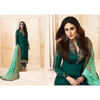 VINAY FASHION LLP® KAREENA - 3 HIT 3 DESIGNS (Single Available) Georgette Fabric Top  Bottom Santoon Chiffon  Dupatta With Embroidered Work Designer  📞Contact us/whats app us on : +91 9898133588 ,+91 7990485004  💻Visit Now : www.grabandpack.com 🇮🇳 Free shipping only in India  📲For Our Daily Updates Ping us on Whatsapp +91 9898133588 👍Like us on Facebook : https://www.facebook.com/grabandpack/ #salwarsuit  #dress  #suit  #lehengasuit  #single  #seasoncollection #vinay  #kareena  #kareenakapoor  #pakistanisuits  #colors  #velvet  #anarkalisonline  #heavysuit  #brand  #womenwear  #indiantradition  #clothes