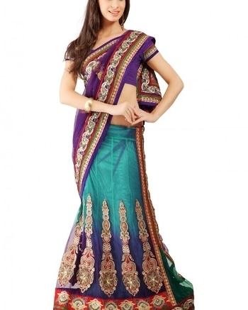 Be a fashionista and buy this amazing fusion of lehenga & saree from WedLista.com.  COD Available|Free Shipping| Easy Returns  Shop now:Product Code: TSSF1931  Price:Rs. 5,119.00  #WedLista #FashionForWeddings