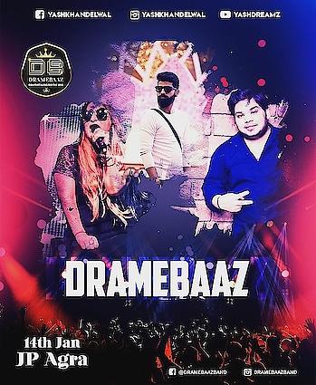 1st show of 2020 So aaj ka scene city of Love 💖  Agra walo Ready for Biggest drama with your favourite dj based Band #Dramebaaz 🎇💎  #Dramebaaz #djbasedband #entertainer #performer #liveband #wedmegood #weddingwire #weddingfever #blessed