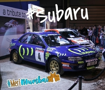 #subaru #car #carlove #race #sportscars #merimumbai  #exhibition #sportslover #worldracing