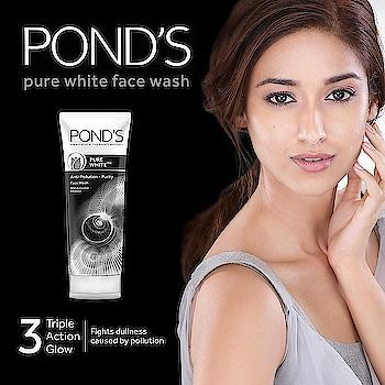 #pond's pure white Facewash rs-200