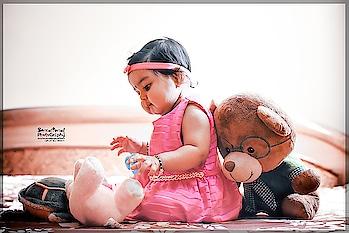 Childhood is the best time of Life,  so play,enjoy and Learn. #babyshoot  #nikonphotography #nikonindia #nikond750 #babyphotography  #indoorshoot #babystuff  #playingwithtoys #sensationalphotography  #newfeeds  #postlover  #teddylover  #besensational #captureyourmoments #roposoers #roposostarchannel #creativespace #creativespacechannel #likesforlikesback