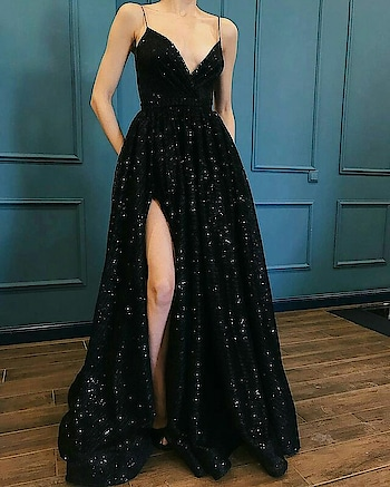 #gown #gownlove #blackgown #powerdressing #promdress
