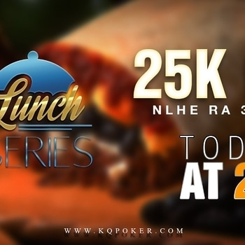 Relish your delicious lunch with a kick of poker moves with today's KQ Lunch Series, 25K GTD at 2 pm. Join the feast only on KQ Poker!!! #pokerlove #pokerlife #pokerskills #pokergame #game #pokerupdates #dailypost #lunchtimepoker #onlinegame #lovegames #skill #skillgame #winbig #Lunchtime #delicio #delishpoker #relish #hugeprizes #pokertournament #kqpoker #whereroyalsroll